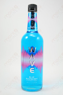 Wave Blue Raspberry Vodka 750ml