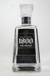 1800 Silver 100 proof 750ml