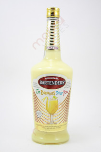 Bartenders Cocktail I'm Bananas Over You 750ml