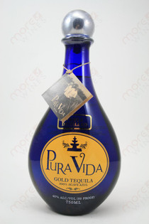Pura Vida Gold Tequila 750ml