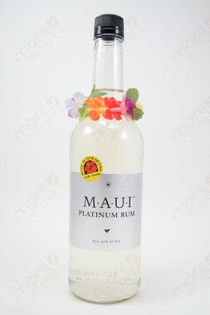 MAUI Platinum Rum 750ml