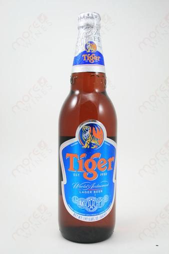 Tiger Lager 22fl oz