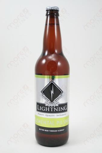 Lightning Elemental Pilsner 22fl oz