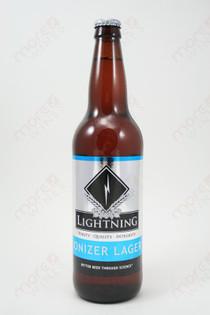 Lightning Ionizer Lager 22fl oz