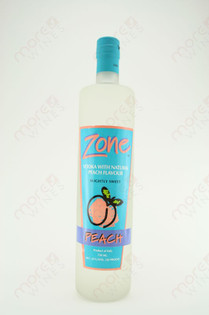 Zone Peach Vodka 750ml