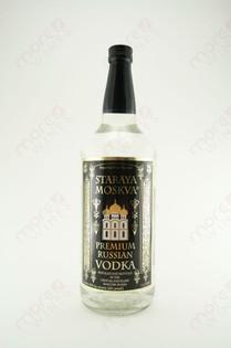 Staraya Moskva Vodka 1L