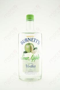 Burnett's Sour Apple Vodka 750ml
