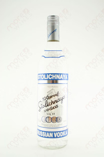 100 Proof Stolichnaya Vodka 750 ml