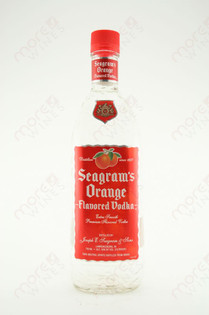 Seagram's Orange Vodka 750ml