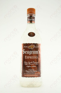 Seagram's Espresso Vodka 750ml