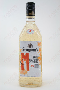 Seagram's Grape Flavored Vodka 750ml
