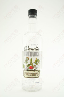Potter's Vanilla Vodka 750ml