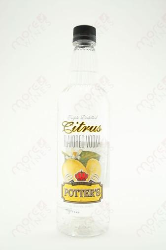 Potter's Citrus Vodka 750ml