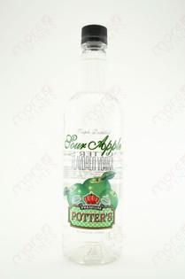 Potter's Sour Apple Vodka 750ml