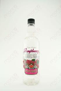 Potter's Raspberry Vodka 750ml