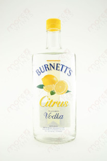 Burnett's Citrus Vodka 750ml