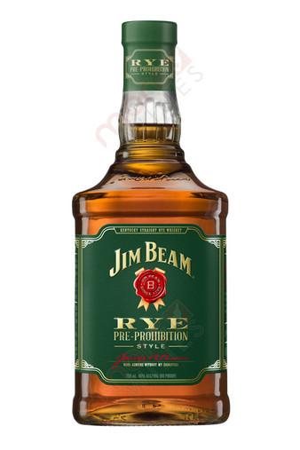 Jim Beam 90 Proof Pre-Prohibition Straight Rye Whiskey 750ml