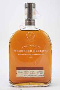 Woodford Reserve Distillers Select Kentucky Straight Bourbon Whiskey 750ml