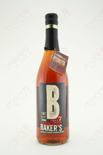 Baker's Kentucky Straight Bourbon Whiskey 750ml