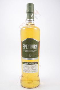 Speyburn Single Highland Malt Scotch Whiskey 10 years 750ml