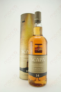 Scapa Single Malt Scotch Malt Scotch Whisky 14 year 750ml