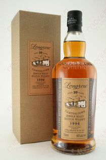 Longrow Single Malt Scotch Whisky 10 Year Old 750ml
