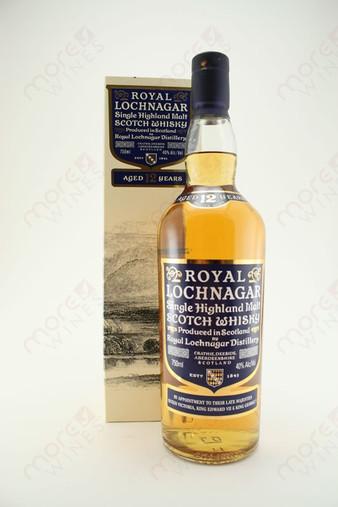 Royal Lochnagar Single Highland Malt Scotch Whisky 750ml