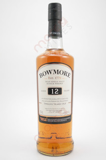 Bowmore Islay Single Malt Scotch Whisky 12 Year Old 750ml