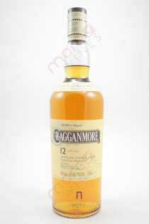 Cragganmore Single Speyside Malt Scotch Whisky 12 Year Old 750ml