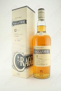 Cragganmore Single Speyside Malt Scotch Whisky 12 Year Old 750ml