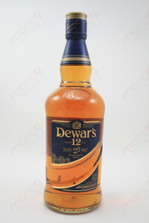 Dewar's 12 year Old Whisky 750ml