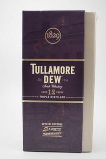 Tullamore Dew Irish Blended Whiskey 12 Years Old 750ml