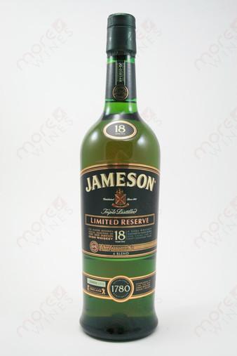 Jameson 18 year old Irish Whiskey 750ml