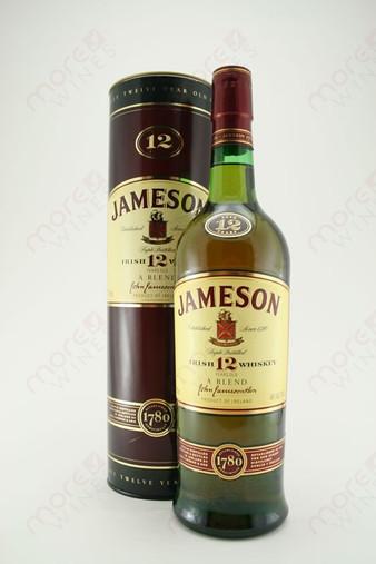 Jameson Blended 12 year old Irish Whiskey 750ml