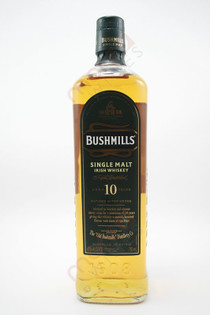 Bushmills Malt Single Malt Irish Whiskey 10 years old 750ml