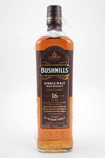 Bushmills Malt Single Malt Irish Whiskey 16 years old 750ml