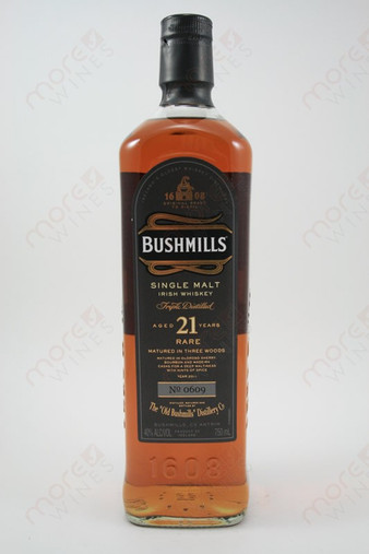 Bushmills Malt Single Malt 21 Years Old 750ml