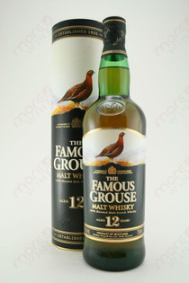 The Famous Grouse Malt WhiskeyAged 12 years 750ml