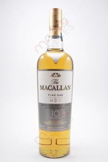 The Macallan Fine Oak 10 year Single Malt Highland Scotch Whiskey 750ml