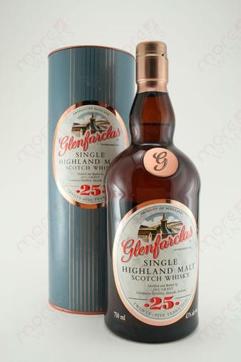 Glenfarclas 25 Year Single Highland Malt Scotch Whisky 750ml