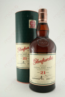 Glenfarclas 21 Year Single Highland Malt Scotch Whiskey 750ml