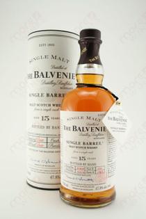 The Balvenie Single Barrel 15 Year Malt Scotch Whisky 750ml