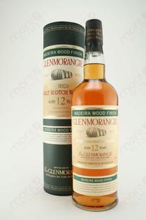 Glenmorangie 12 Year Madeira Wood Finish Single Highland Malt Scotch Whisky 750ml