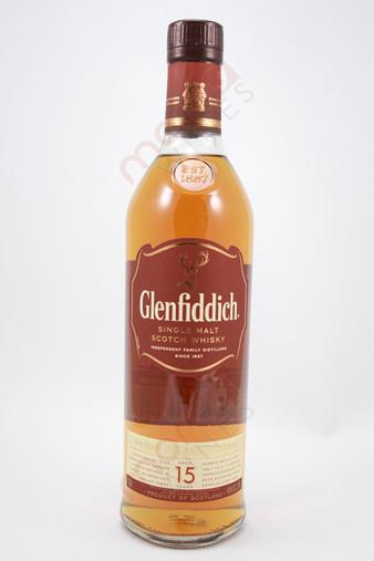 Glenfiddich Solera 15 years-old Single Malt Scotch Whisky 750ml