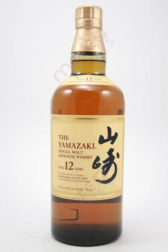 The Yamazaki 12 Year Single Malt Whisky 750ml