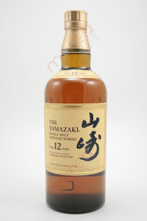 The Yamazaki 12 Year Single Malt Whisky 750ml