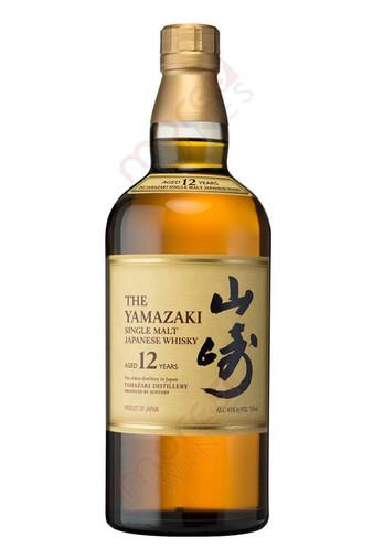 Yamazaki 12 Year Single Malt Whiskey 750ml