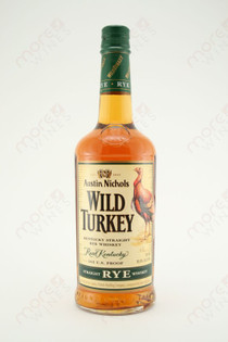 Wild Turkey 101 Proof Kentucky Straight Rye Whiskey 750ml