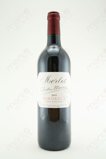 Christian Moueix Bordeaux Merlot 750ml