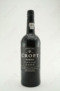 Croft Porto Vintage 2000 750ml